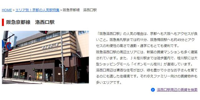 京都市の地域情報